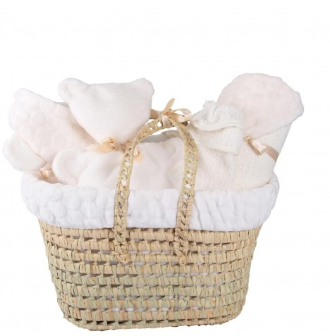 Clair De Lune Polly Marshmallow Gift Set - Cream